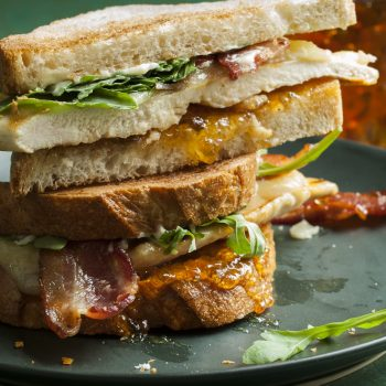 Sweet and Spicy Bacon Chicken Sandwichh
