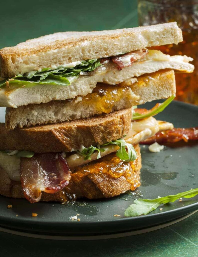 Sweet & Spicy Bacon Chicken Sandwich