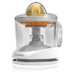white plastic electric citrus juicer