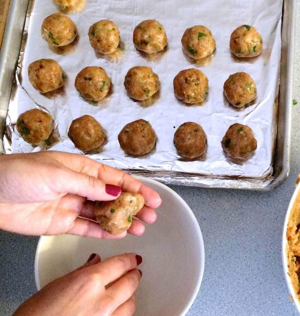 Chicken Chipotle Meatballs