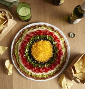 Overhead image of The New 7-Layer Dip recipe