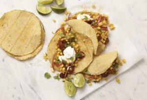 Corn Chorizo Tacos recipe image