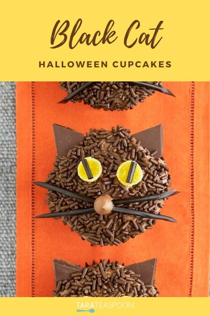 Black Cat Cipcakes Pinterest Image