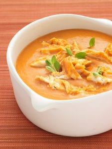 Chicken tomato bisque recipe image
