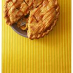 Pinterest image for Salted Caramel Apple Pie with text