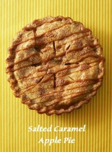 Pinterest image of Apple Pie with text