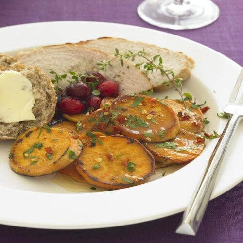 Feature recipe image of Chile Sweet Potatoes