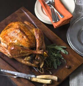 Favorite Roasted Turkey and Gravy + Tips