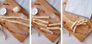 Step by step images for making Finnish Cardamom Bread