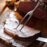 Prime Rib with Creamy Horseradish for holiday dinner pin image
