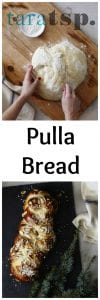 Pinterest image for Pulla Bread with text
