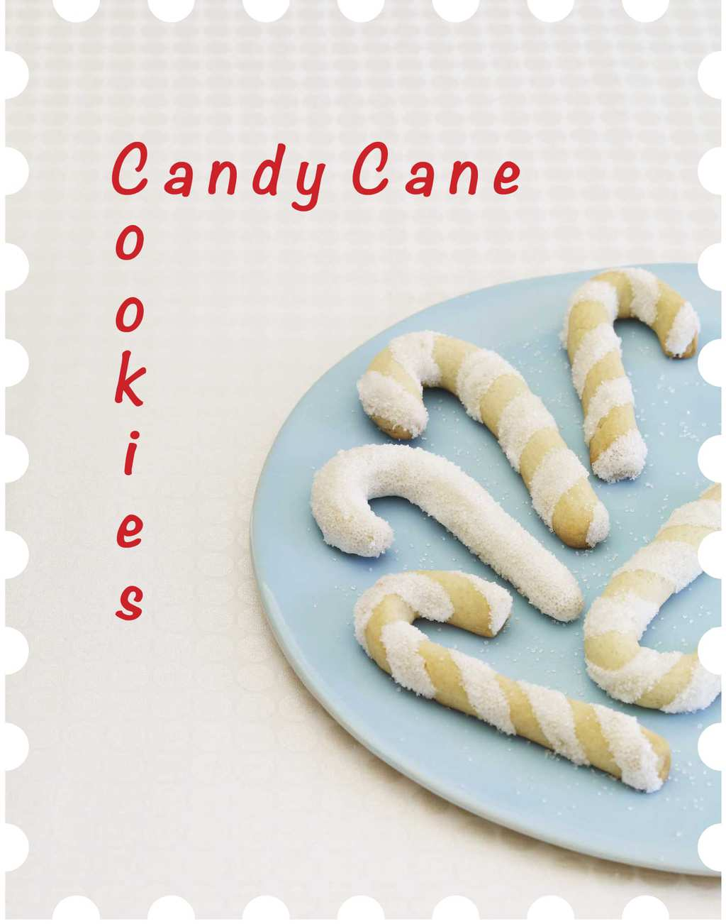 Candy Cane stamp