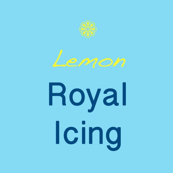 Lemon Royal Icing