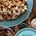 Barbecue Popcorn with an easy BBQ seasoning mix is a simple recipe with a tangy twist.