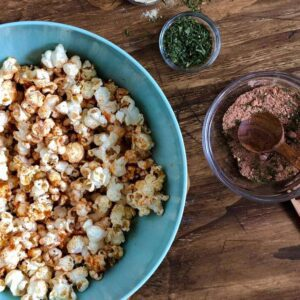 BBQ popcorn with herbs and spices for Spiced Up on KSL Studio 5