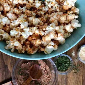 Barbecue Popcorn with an easy BBQ seasoning mix, as seen on KSL Studio 5 TV