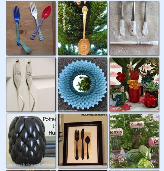 22 Things To Do With Silverware!