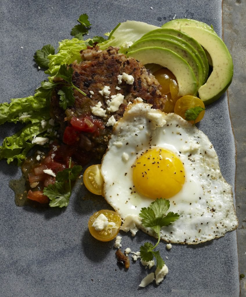 Huevos With Black Bean Hash Browns