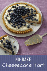No-Bake Cheesecake Tart Pin