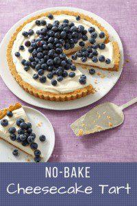 No-Bake Cheesecake Tart Pin