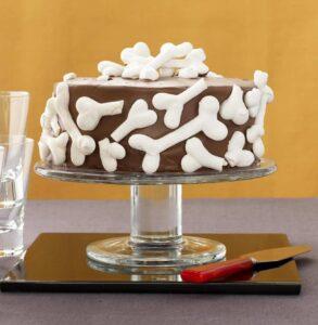 Broken Bones Graveyard Cake feature recipe image