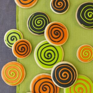 Spooky Spiral Cookies recipe image