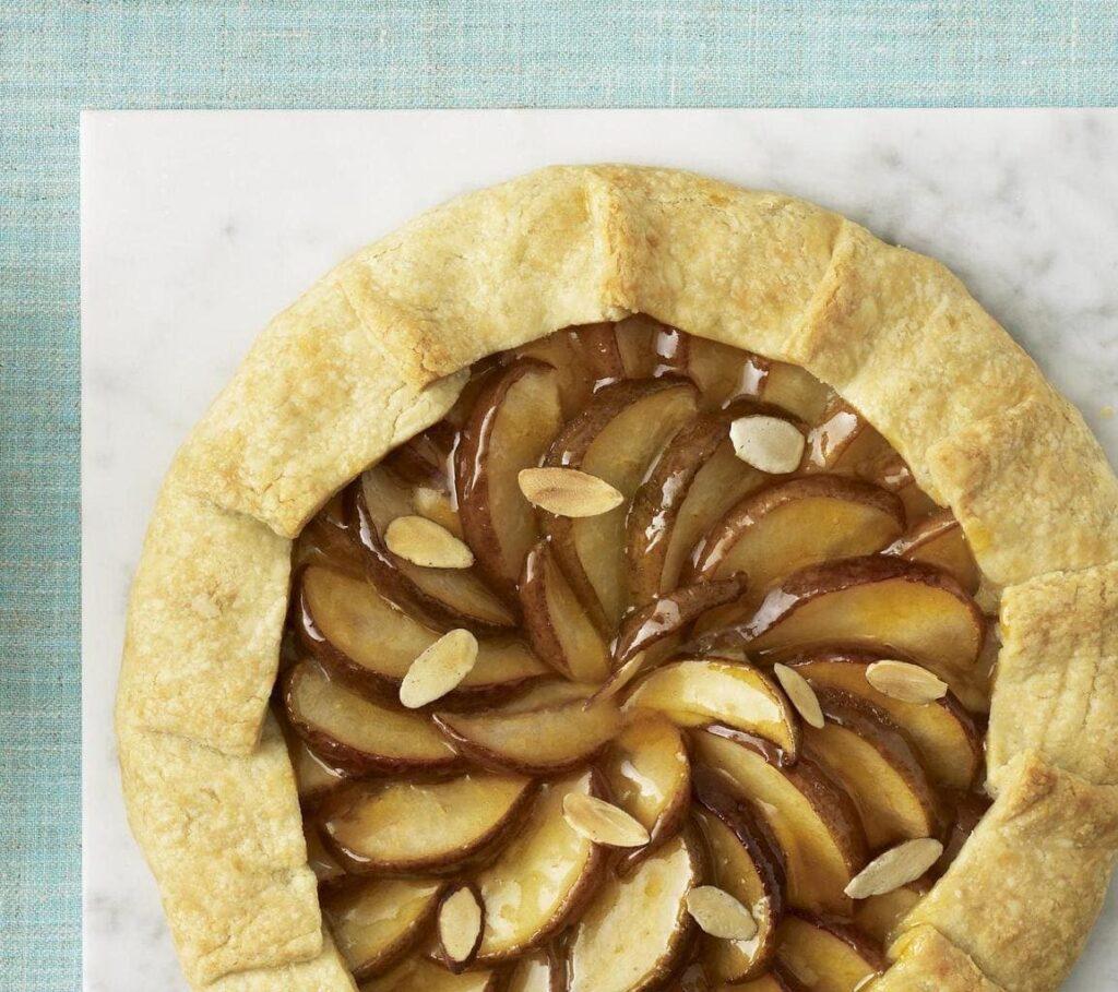 Pear Almond Frangipane Crostata