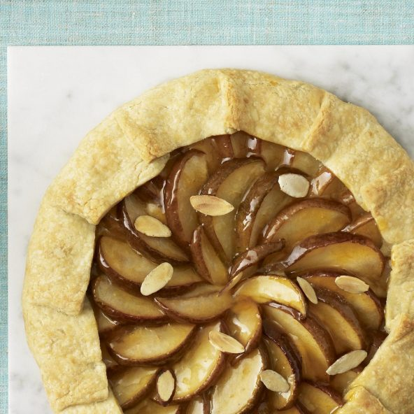 Pear Almond Frangipane Crostata