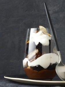 Almond Joy in a Jar with spoon