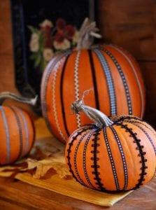 No Carve Fall Pumpkin Crafts ideas
