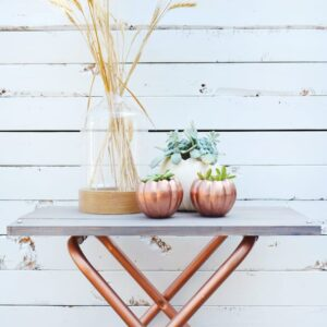 BrePurposed Pumpkin Planter DIY