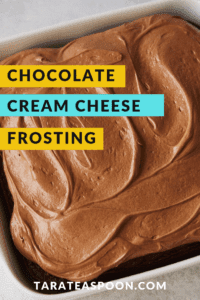Easy Chocolate Cream Cheese Frosting