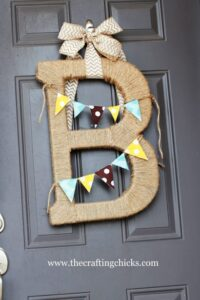 Crafting Chicks Twine Monogram Letter