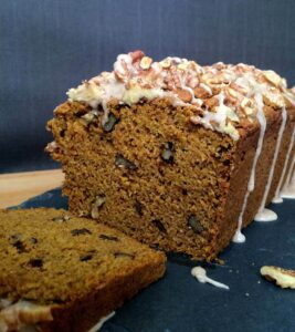 Whole Wheat Walnut Pumpkin Bread