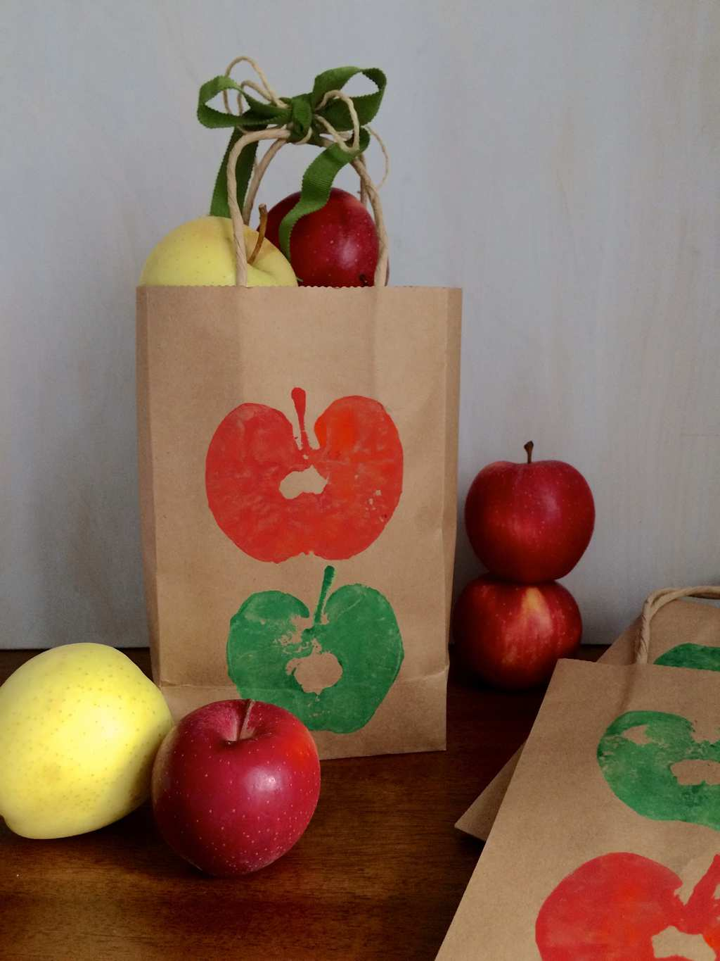 Apple Stamps Craft
