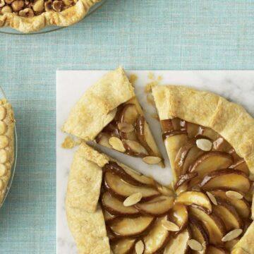 Pear and Almond Frangipane Crostata recipe image