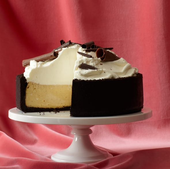 Spiced Cheesecake With Chocolate-Ginger Crust