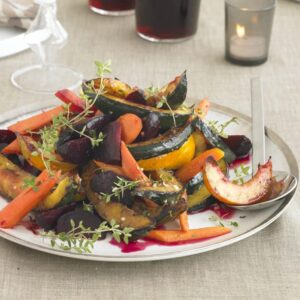 Roasted Vegetable Trio With Orange-Thyme Dressing + Food Styling Tip