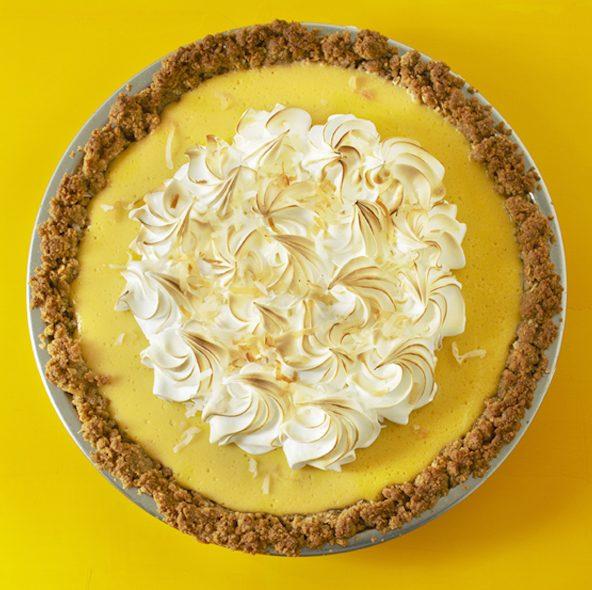 Coconut Mango: Blow Your Mind Coconut-Mango Pie