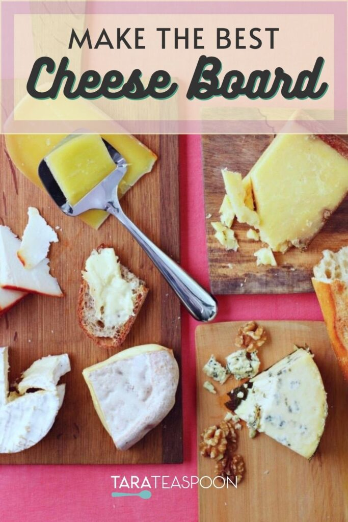 how to make a cheese board pin