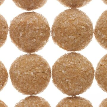 Ginger Spice Button Cookies