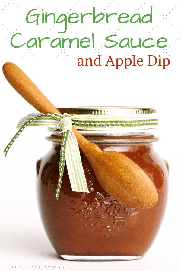 Gingerbread Caramel Sauce and Apple dip