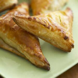 Ham Gruyere Mini Turnovers