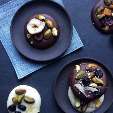 Recipe image of Chocolate Bark Palettes