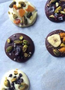 Pistachio Chocolate Bark Palettes