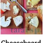 Pinterest image for cheeseboard tips with text