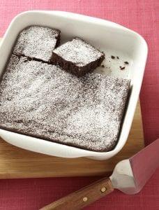 Hide your veggies brownies in pan