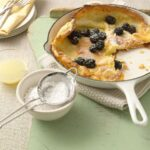 Dutch Baby Pancake With Lemon and Blackberries