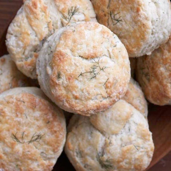 Dill Ricotta Biscuits
