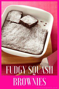 Fudgy Squash Brownies have it all. They are chocolatey and rich, packed with fiber, have a smooth texture, and are a classic chocolate dessert